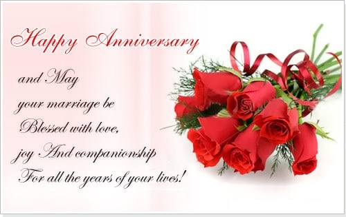 Happy wedding anniversary wishes to a couple events greetings happy anniversary messages to sister and brother in law m4hsunfo