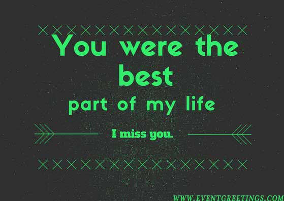 Missing You Messages For Ex-Girlfriend