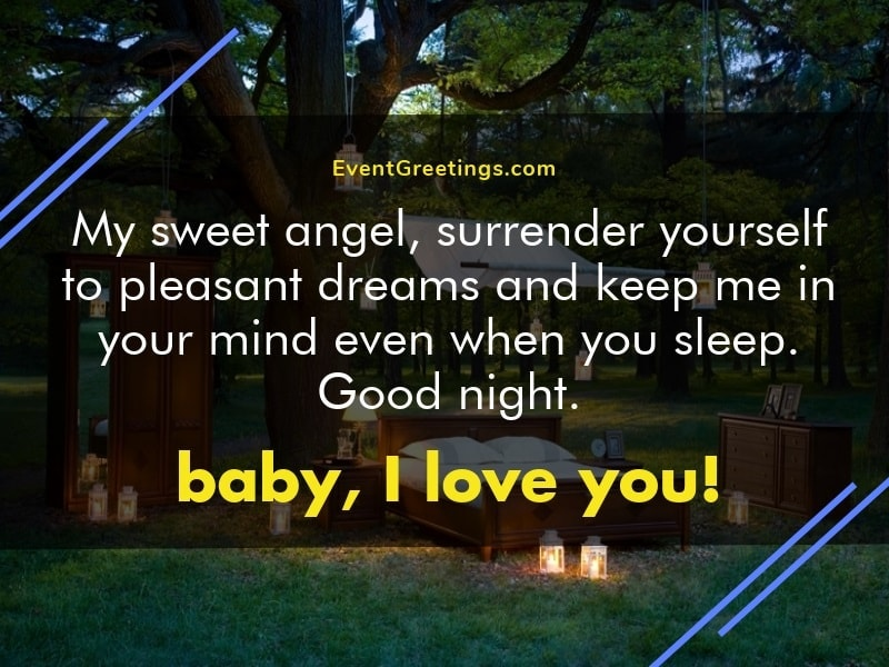 Good Night Message For Gf