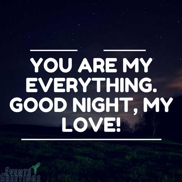 Romantic good night poems for girlfriend