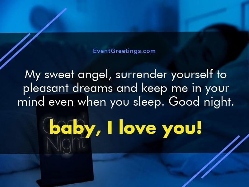 95 Sweet Good Night Messages For Your Girlfriend Events Greetings