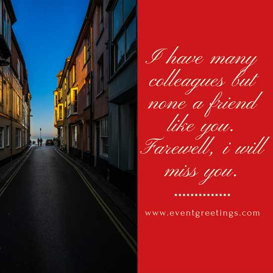 Farewell Messages For Co-Worker's – Good Bye Quotes – Events ...