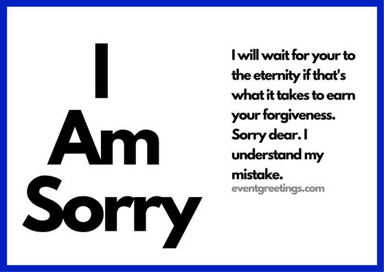 I Am Sorry Messages For Girlfriend - Apology Quotes
