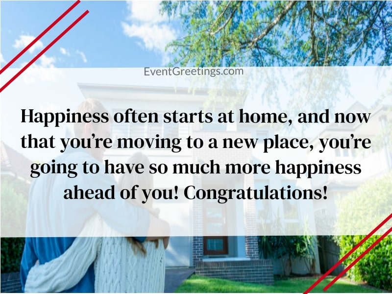 wishes for new home