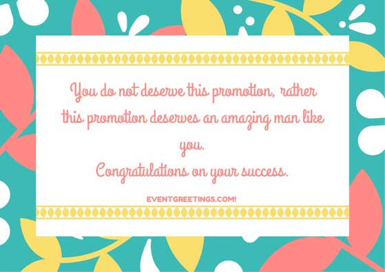 Promotion Wishes And Messages Congratulations Quotes