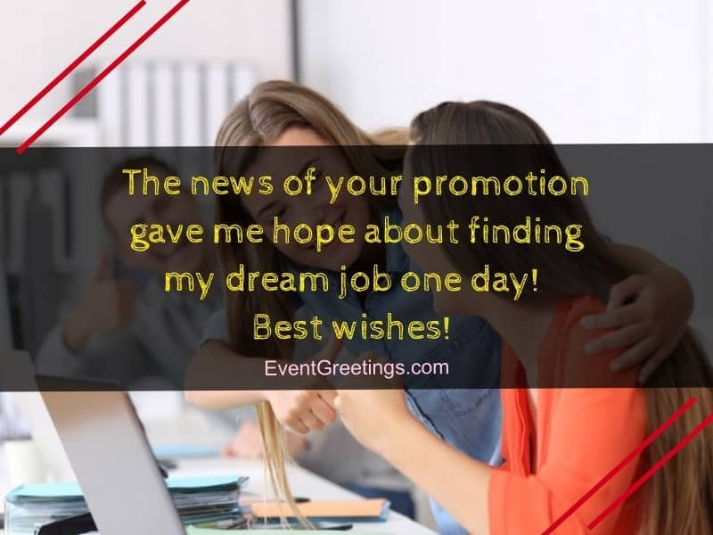 Promotion Wishes And Messages - Congratulations quotes
