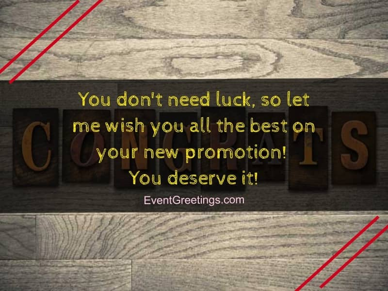 promotion wishes and messages congratulations quotes events