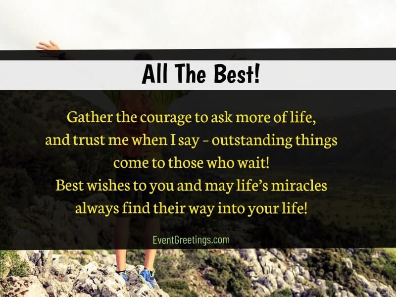 latest good luck quotes and messages