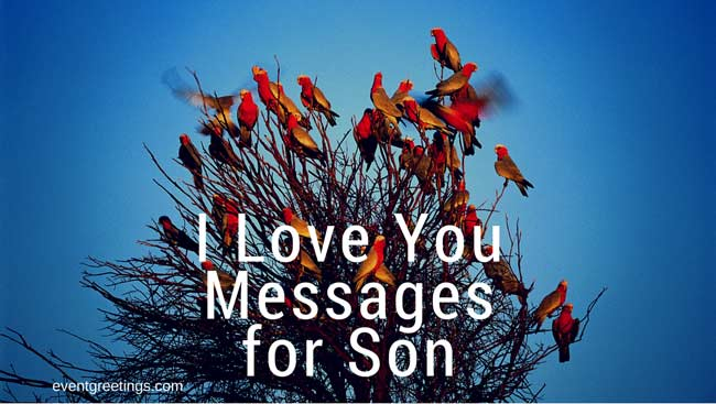 I Love You Message For Son