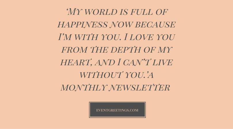 Romantic Quotes Him Unique 48 Love Quotes For Him Romantic Love Quotes Events Greetings