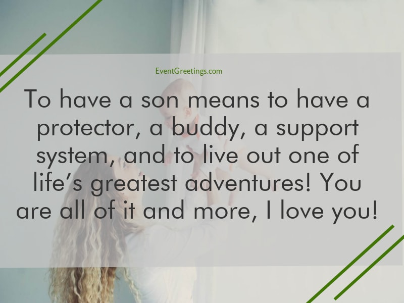 I Love You Messages For Son Events Greetings