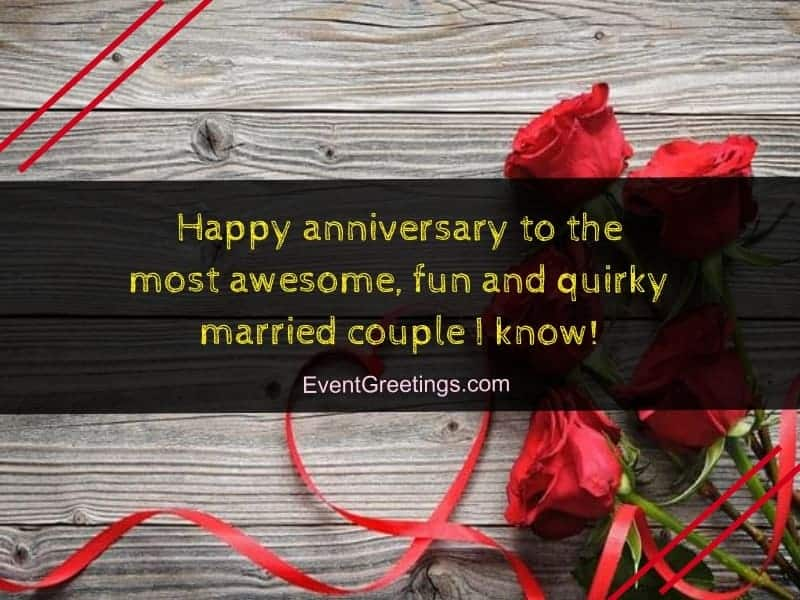 Happy wedding anniversary wishes to a couple events greetings happy anniversary m4hsunfo