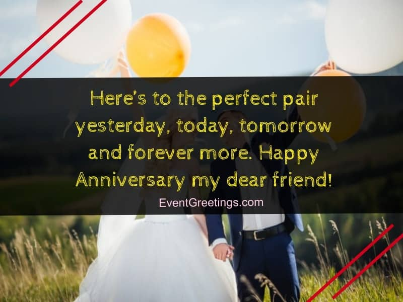 80 Best Happy Wedding Anniversary Wishes To a Couple