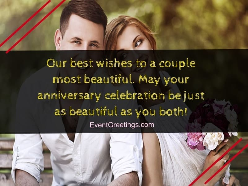 wedding anniversary wishes to couple