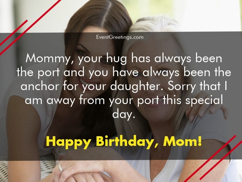 Pleasing 65 Lovely Birthday Wishes For Mom From Daughter Funny Birthday Cards Online Fluifree Goldxyz