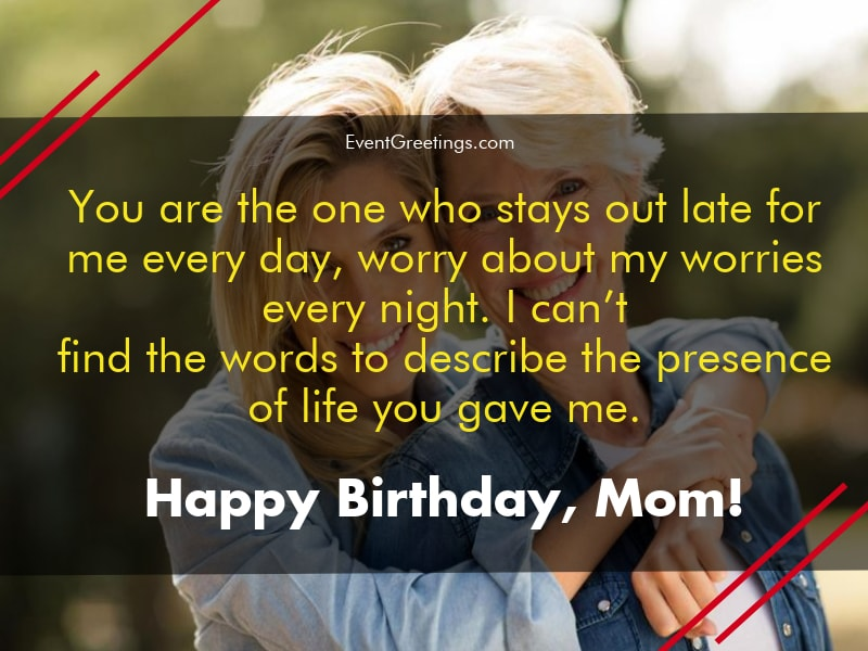 65 lovely birthday wishes for mom from daughter events greetings
