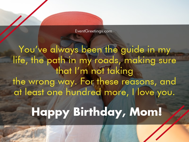 65 Lovely Birthday Wishes for Mom from Daughter
