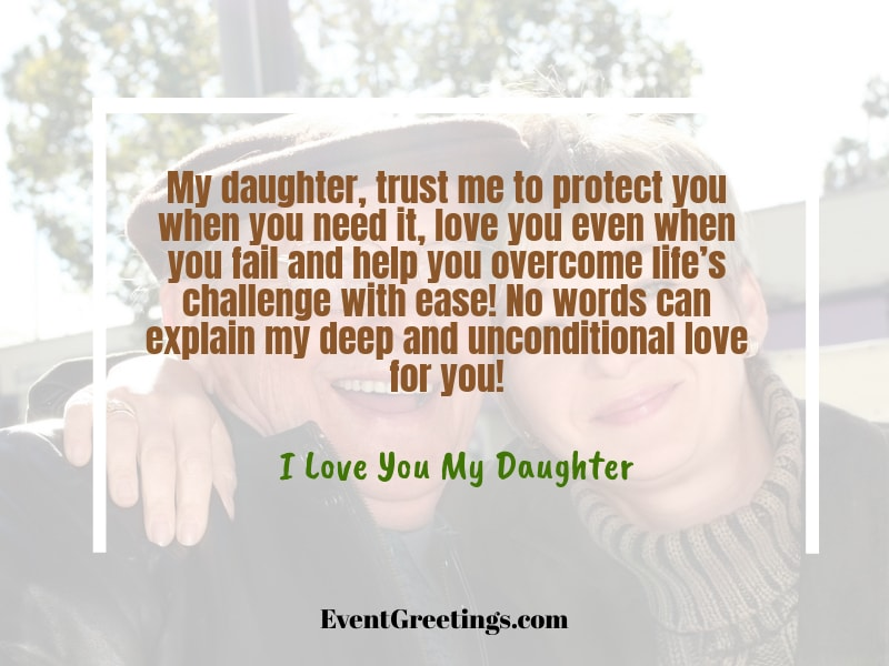 I love You Messages For Daughter (2)