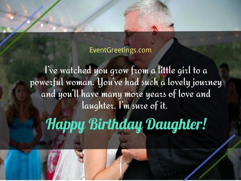 Birthday Wish For Daughter