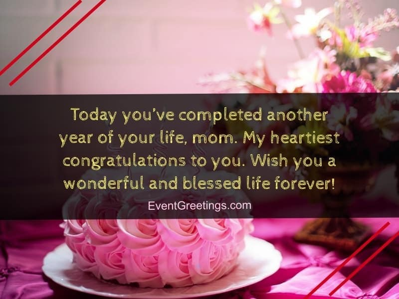 Birthday Wishes for Mom from Daughter