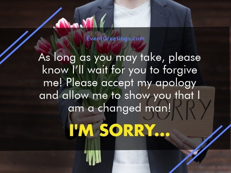 How to apologize to a girl you love