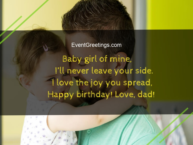 happy birthday daughter from dad
