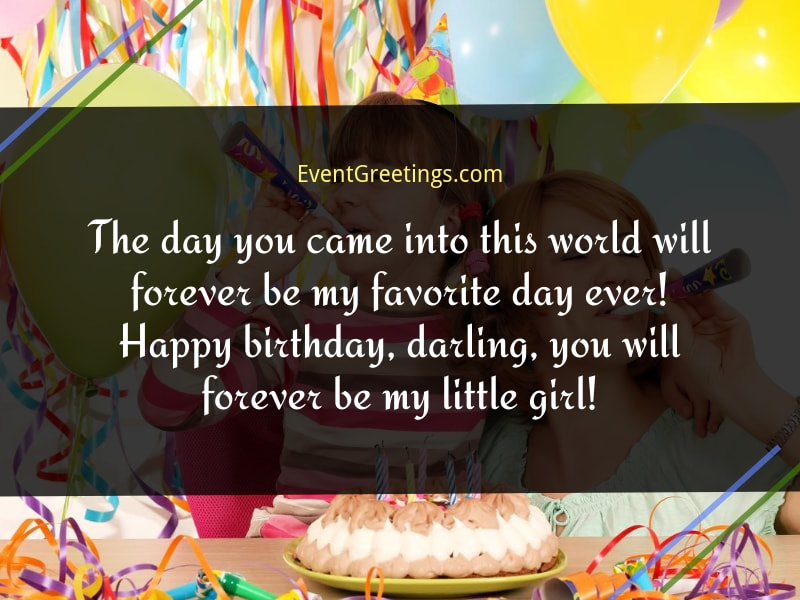 114 Cutest Happy Birthday Wishes For Daughter