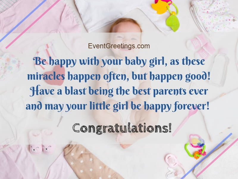 New baby girl wishes quotes and congratulation messages events new baby girl wishes m4hsunfo