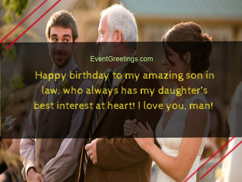 Birthday Wishes For Son In Law Perfect Gesture To Show Love