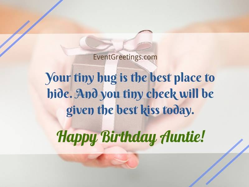 73 Best Happy Birthday Auntie Messages - She\'ll Love These