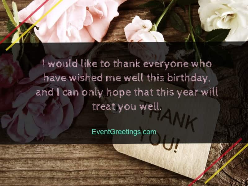 40 Best Thank You Messages For Birthday Wishes Quotes And Notes