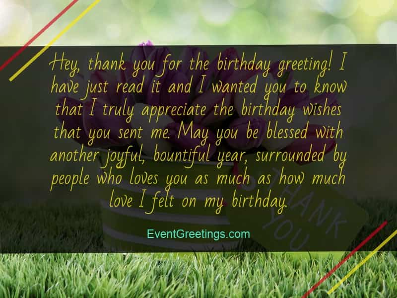 Thank you messages for birthday wishes quotes and notes events i havent heard from you in a while but it seems that you still remember my birthday thank you my dear friend lets get in touch again soon m4hsunfo