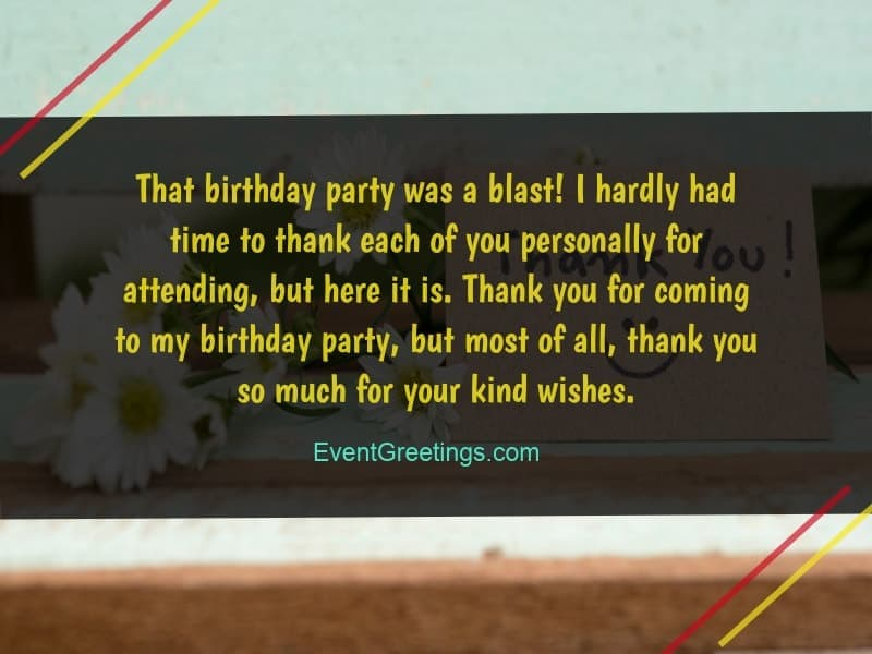 Thank You For Birthday Wishes.40 Best Thank You Messages For Birthday Wishes Quotes And