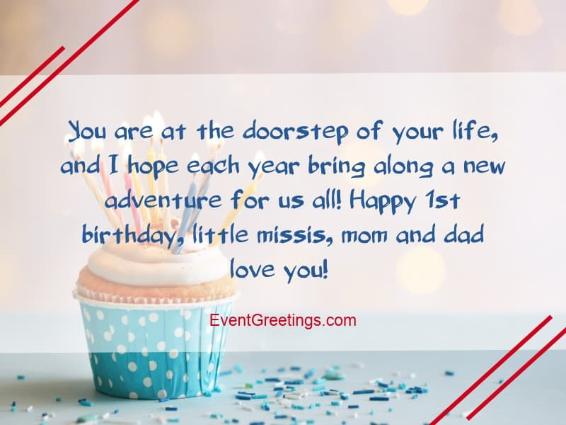21 Awesome Happy Birthday Wishes For 1 Year Old Daughter Events