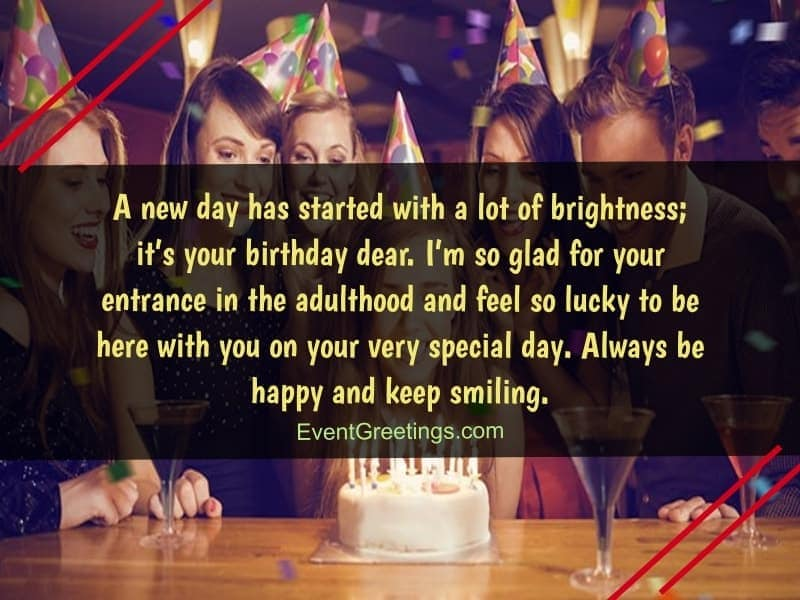 inspirational 18th birthday wishes and quotes