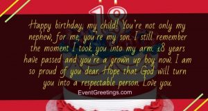 Birthday wishes for son in law perfect gesture to show love happy 18th birthday quotes m4hsunfo