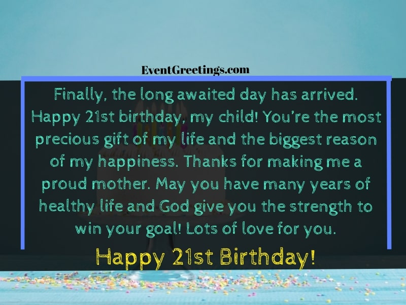 happy 21st birthday quotes