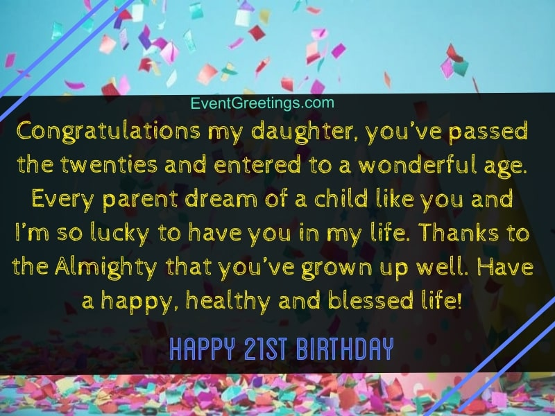 70 Extraordinary 21st Birthday Quotes and Wishes With Love