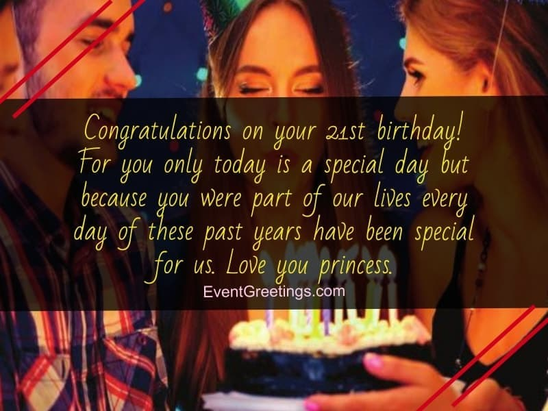 21st Birthday Quotes And wishes