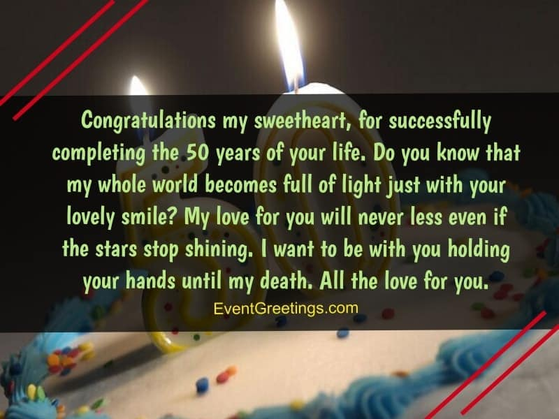 Top 60 Happy 50th Birthday Wishes Quotes And Messages Events