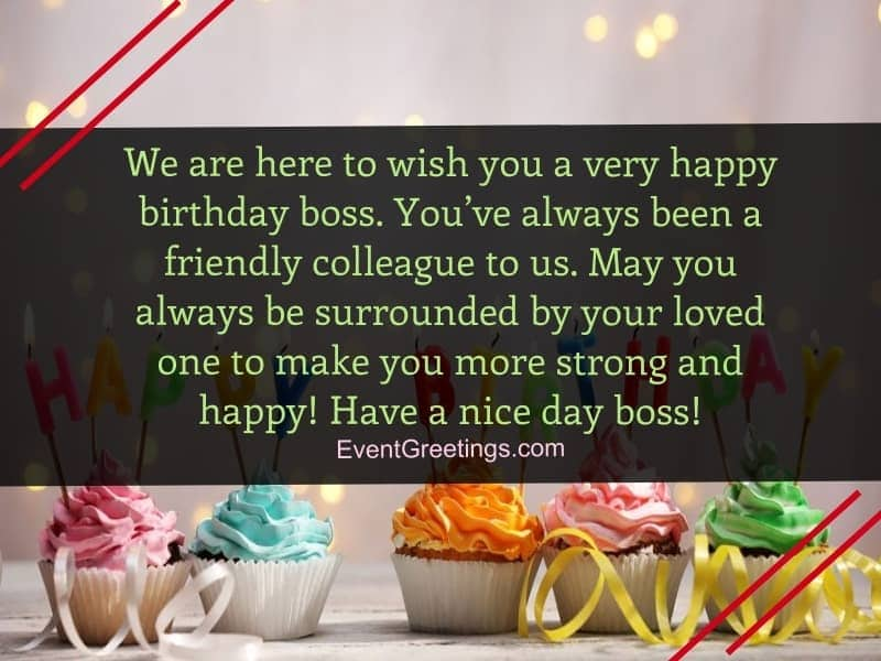 50 Unique Happy Birthday Wishes For Boss And Mentor Events Greetings
