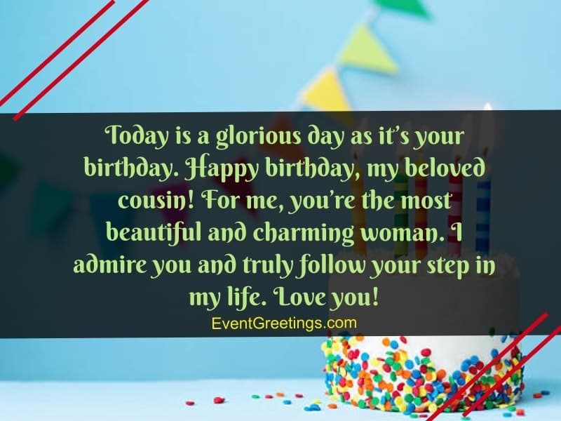 happy birthday quotes for cousin
