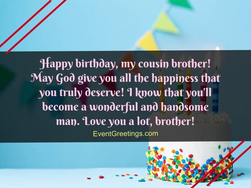 happy birthday wishes for male cousin