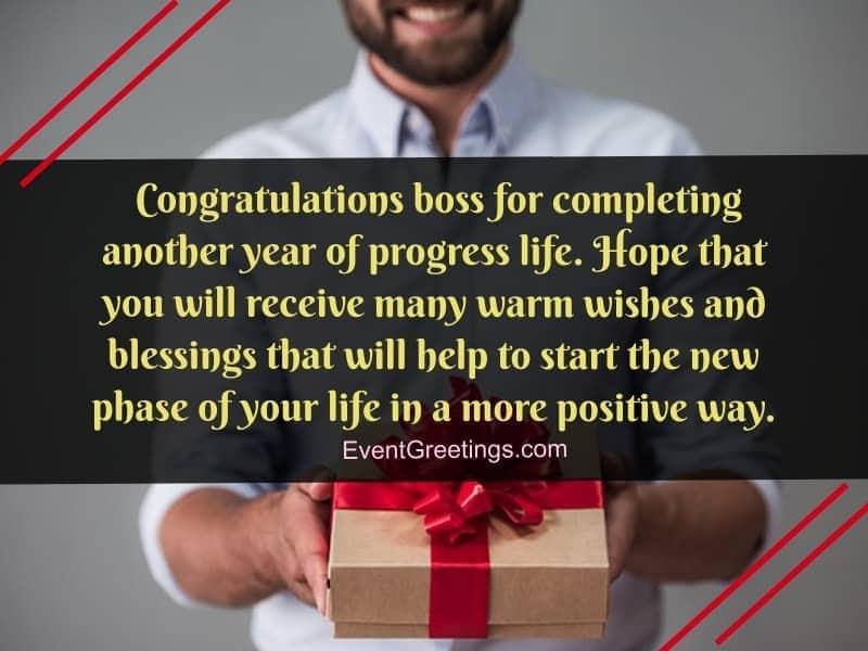 Amazing Birthday Wishes For Boss