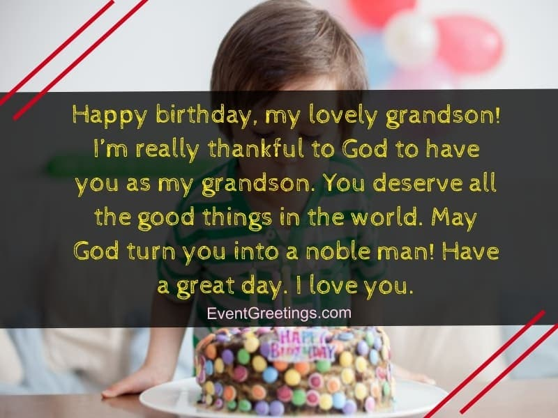 40 Special Birthday Wishes For Grandson With Blessings