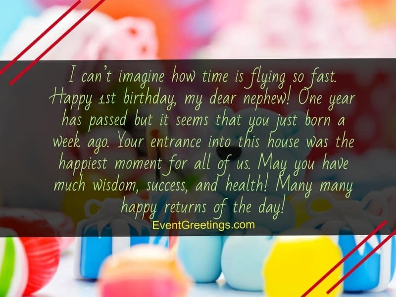 60 Exclusive Happy Birthday Nephew Wishes And Quotes With ...
