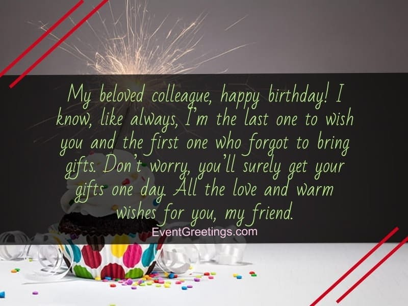 60 Touching Birthday Wishes And Messages For Coworker Events Greetings