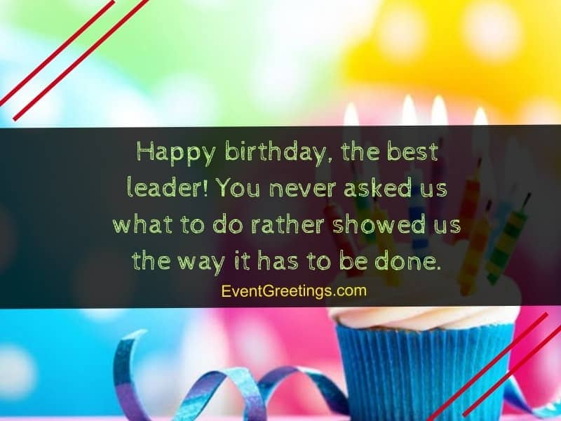 Best Birthday Message For Boss