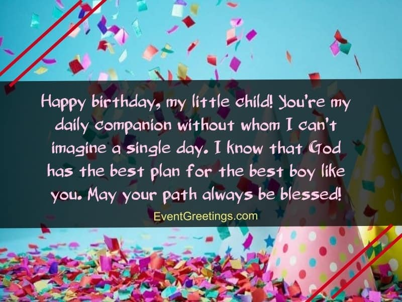 60 Cute Birthday Wishes For Kids With Lots Of Love Events Greetings