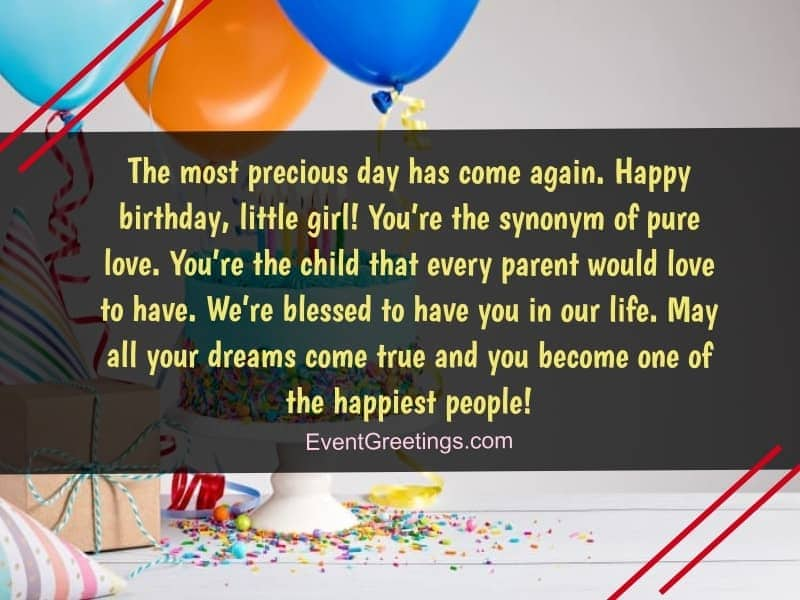 50 Cute Birthday Wishes For Kids With Lots Of Love Events Greetings